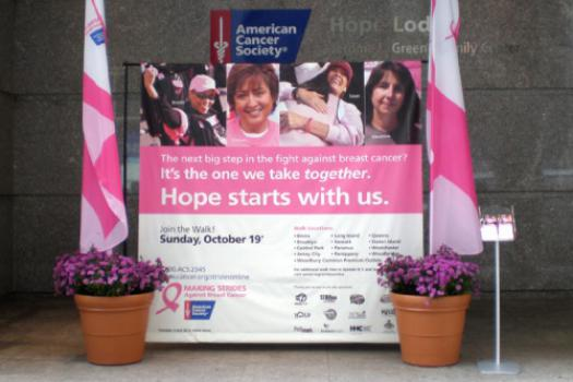 Ace Banner - American Cancer Society Backdrop