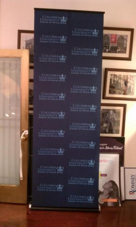 Columbia University Retractable Banner Stand