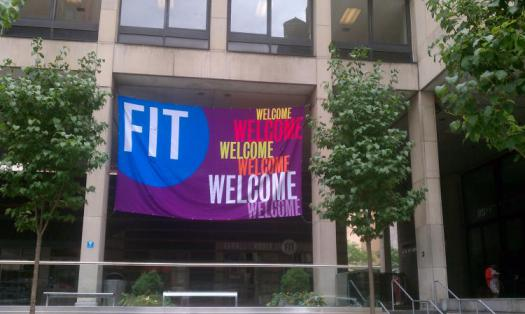 Fashion Institute of Technology - Welcome Banners