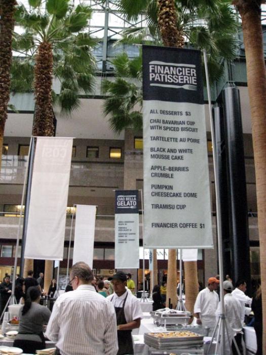 World Financial Center Restaurant Showcase