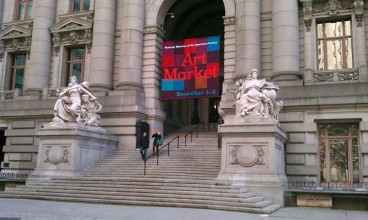 NMAI - Art Market Banner - Exterior Wide