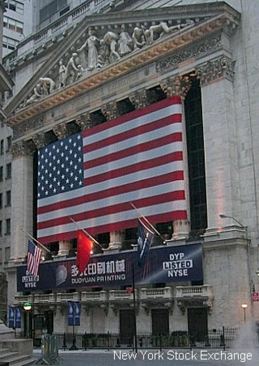 New York Stock Exchange Banner
