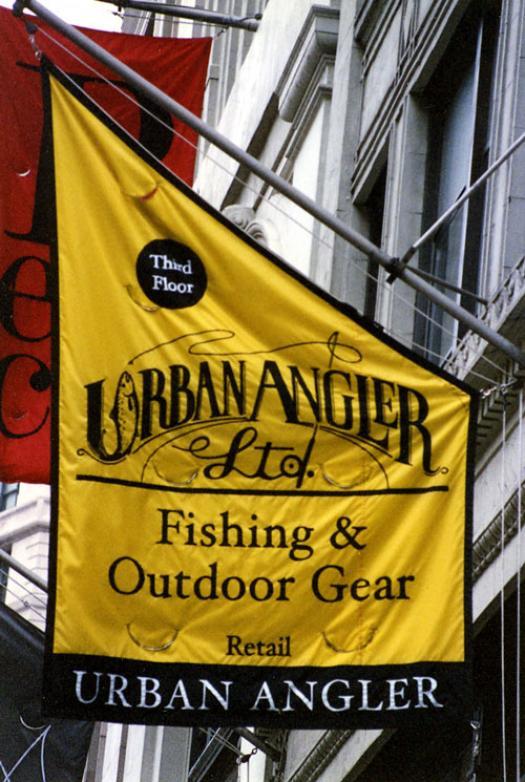 Ace Banner - Urban Angler - Angled Banner