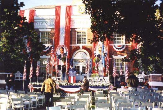 Ace Banner - The Stepford Wives Film - Political Rally Drapery