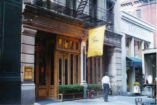 Ace Banner - Zoe Restaurant