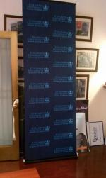 Columbia University Retractable Banner Stand - 2nd View