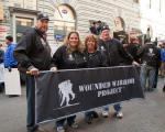 The Wounded Warrior Project - 2011 Veteran's Day Parade Banners - black
