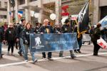 The Wounded Warrior Project - 2011 Veteran's Day Parade Banners - blue