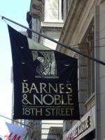 Barnes and Noble Outdoor Advertising Banner