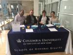 Columbia University Table Banner - Ace Banner