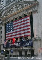 New York Stock Exchange Banner