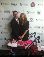 Step and Repeat Banner for Sophia&#039;s Cure