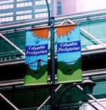 Ace Banner - Columbia Presbyterian Street Banners